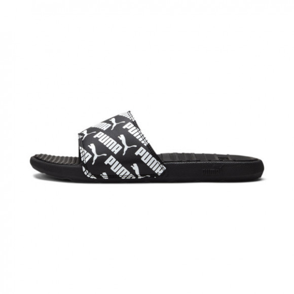 PUMA Cool Cat Bold 2 Men's Slides in Black/White - 375343-02