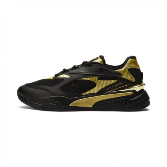 PUMA RS-Fast Metal Sneakers in Black/Team Gold - 375383-01
