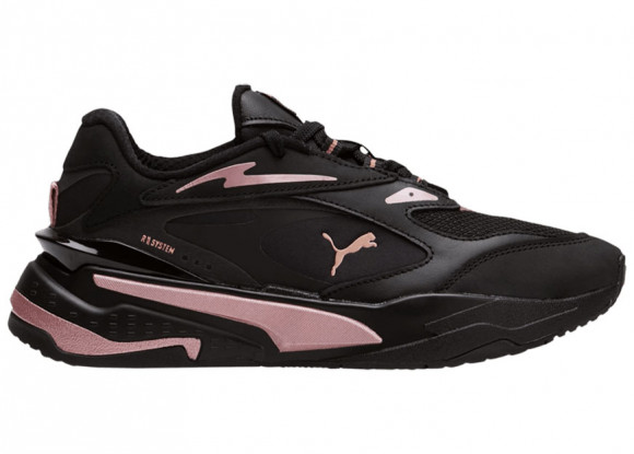 PUMA RS-Fast Royal Flame Women's Sneakers in Black/Rose Gold - 375384-01