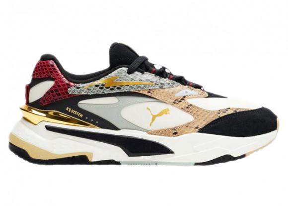 PUMA RS-Fast Wild Disco Women's Sneakers in Marshm/Pale Khaki/Red Dahlia - 375386-01