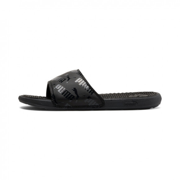 PUMA Cool Cat Bold Boys' Slides JR in Black - 375394-01