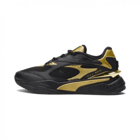 PUMA RS-Fast Metal Sneakers JR in Black/Team Gold - 375413-01