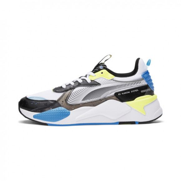 PUMA RS-X 8W Men's Sneakers in White/Black/Nrgy Blue - 375438-01