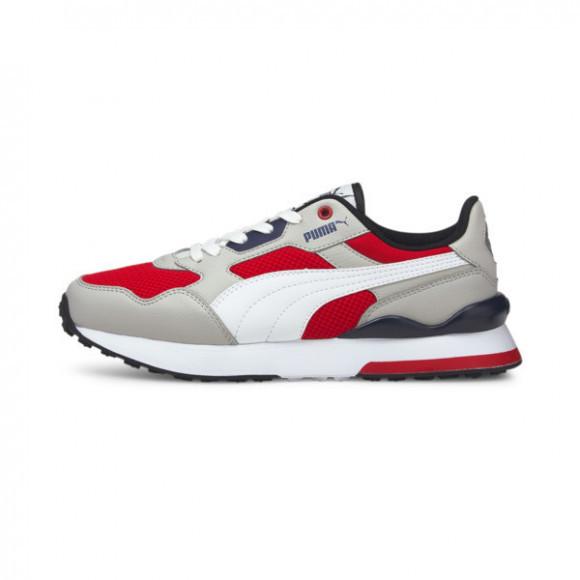 PUMA R78 FUTR Sneakers JR in High Risk Red/White/Grey - 375691-02