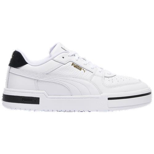 PUMA Cali Pro - Men's Tennis Shoes - White / Black - 37581101