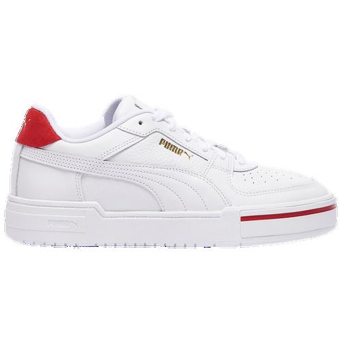 PUMA Cali Pro - Men's Tennis Shoes - White / Red - 37581102