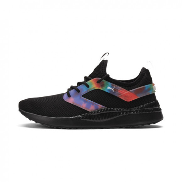 PUMA Pacer Next Excel Tie Dye Women's Training Shoes in Black/Luminous Pink - 375896-02