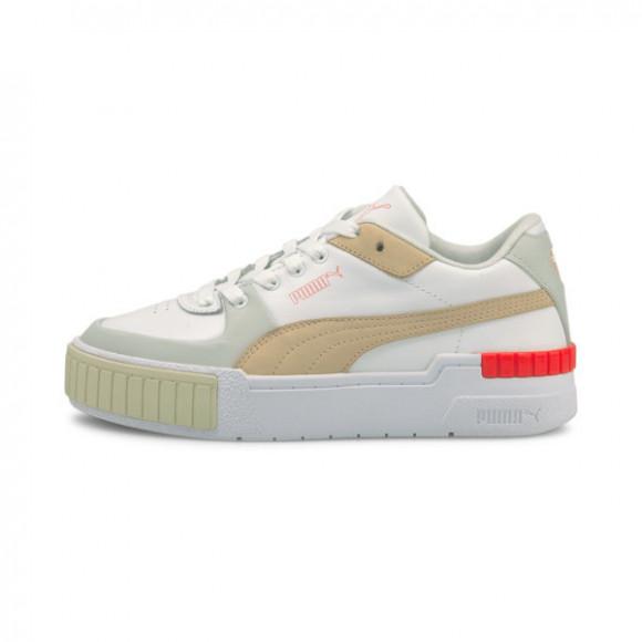 PUMA Cali Sport Convey Women's Sneakers in White/Grey/Violet - 375991-01