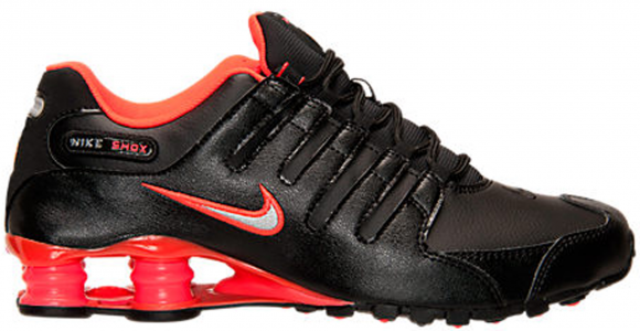 Nike Shox NZ Black Bright Crimson - 378341-006