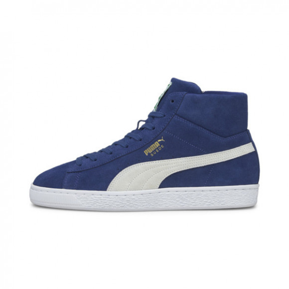 PUMA Suede Mid XXI Men's Sneakers in Elektro Blue/White - 380205-04