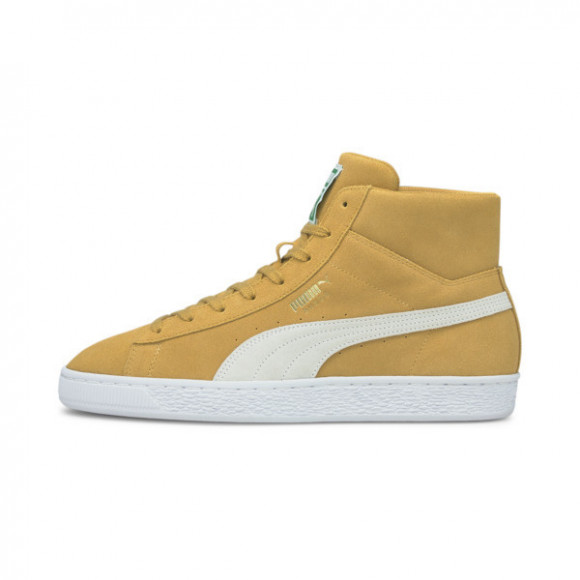 PUMA Suede Mid XXI Men's Sneakers in Yellow - 380205-05