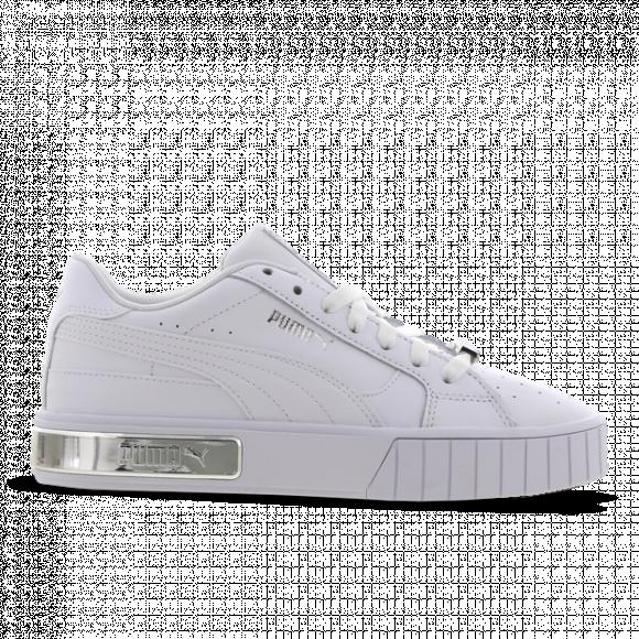 PUMA Cali Star Metallic Women's Sneakers in White/Silver - 380219-01