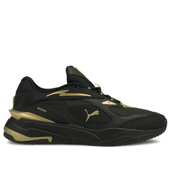 PUMA RS-Fast Metal v2 Sneakers in Black/Team Gold - 380498-01