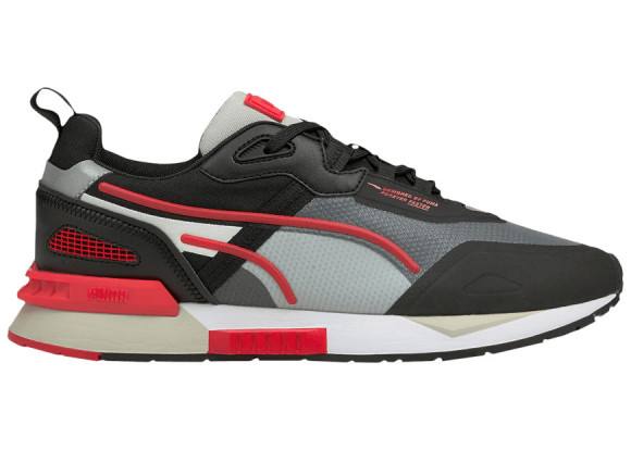 PUMA Mirage Tech Sneakers in Black/High Risk Red - 381118-04