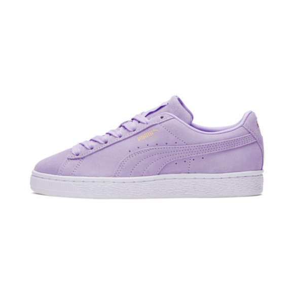 PUMA Suede Classic XXI Women's Sneakers in Light Lavender/Gold - 381410-22