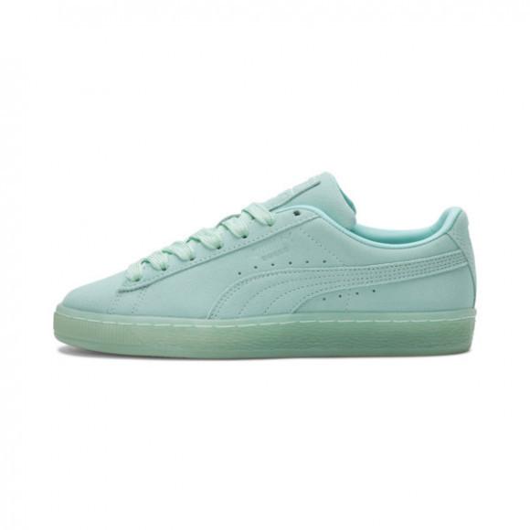 PUMA Suede Classic Mono Iced Women's Sneakers in Aruba Blue - 381588-01