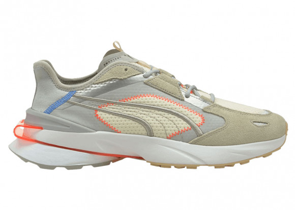 PUMA PWRFRAME OP-1 Cyber Sneakers in High Rise/Vaporous Grey/White - 381599-01