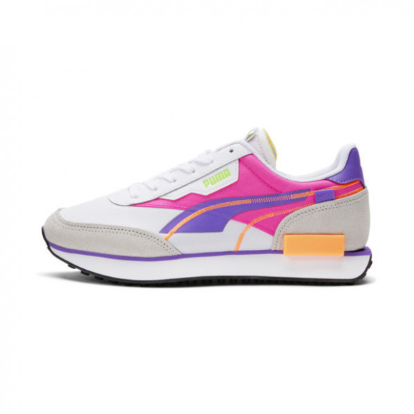 PUMA Future Rider Twofold Women's Sneakers in White/Luminous Purple - 381700-03