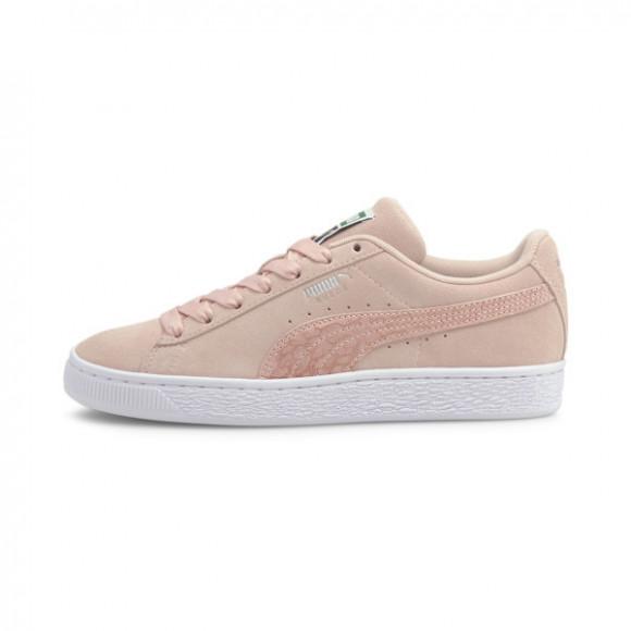 PUMA Suede Iri Wild Women's Sneakers in Lotus/White - 382567-01
