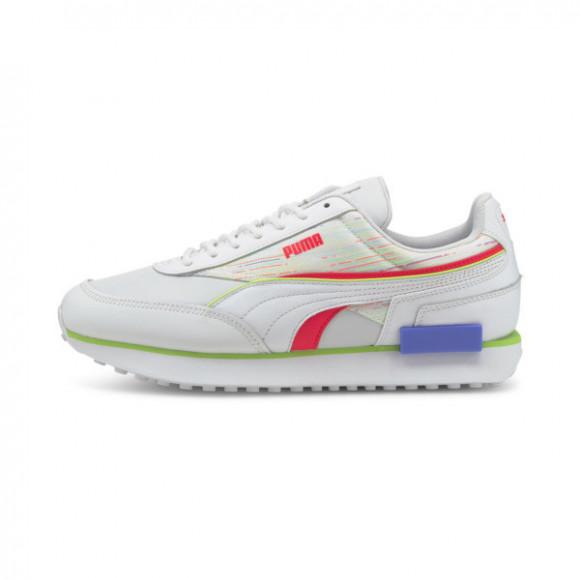 PUMA Future Rider Double Spectra Sneakers in White/Sunblaze - 382740-01