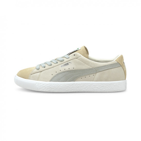 PUMA Suede VTG Block Women's Sneakers in Marshmallow/White - 382779-01