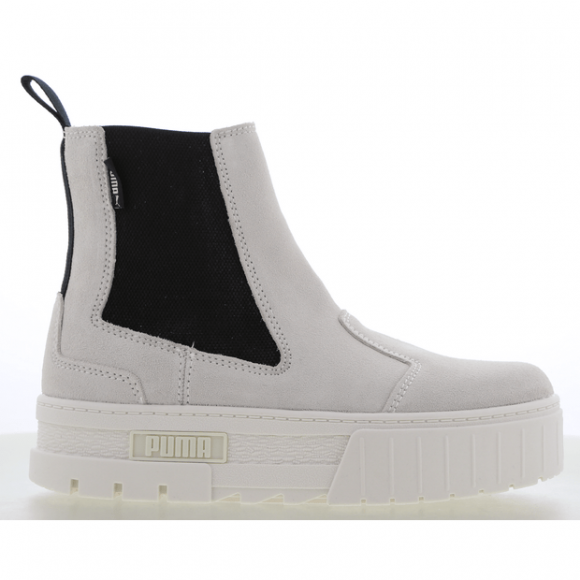 PUMA Mayze Chelsea Suede Women's Boots in Marshmallow White - 382829-02