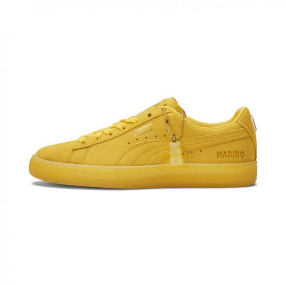 PUMA x HARIBO Suede Sneakers JR in Mimosa/Mimosa - 382852-01