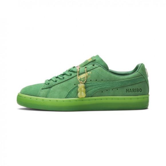 PUMA x HARIBO Jr Suede Sneakers in Amazon Green/Amazon Green - 382853-01