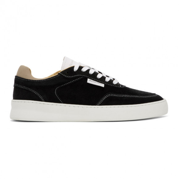 Filling Pieces Black Spate Plain Phase Sneakers - 40125871861