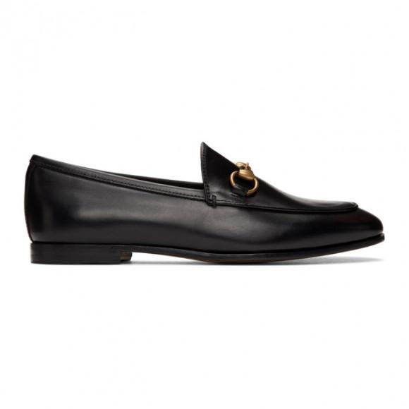 Gucci Brown Jordaan Loafers - 404069-BLM00