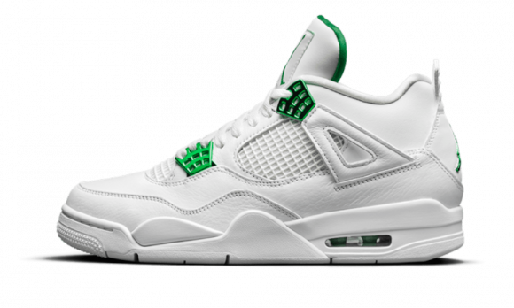 Air Jordan 4 Retro Metallic Green - 408452-113