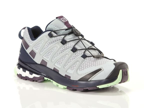 Salomon XA Pro 3D V8 Running Shoes Grey- Womens- Size 8.5 B - 409870