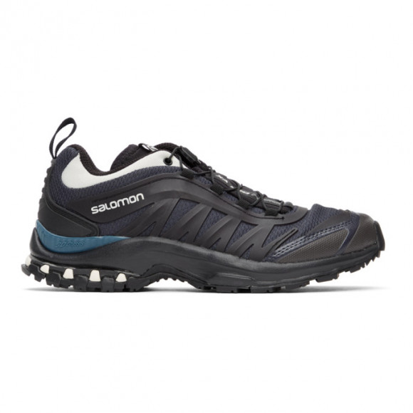 Salomon Black and Green XA-Pro Fusion Advanced Sneakers - 412624