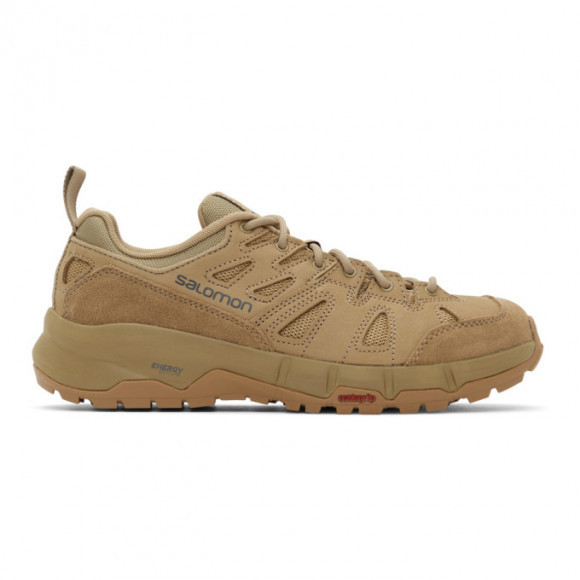 Salomon Beige Odyssey Advanced Sneakers - 414717