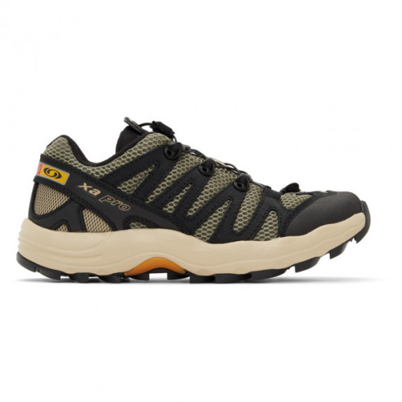Salomon Khaki and Black XA Pro 1 Advanced Sneakers - 414822