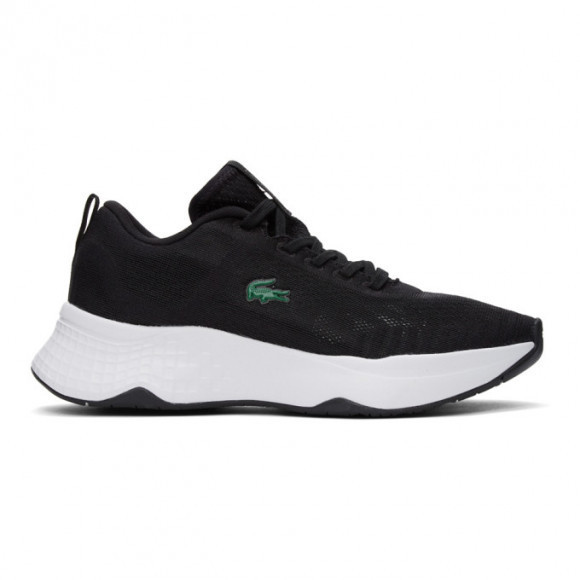 Lacoste Black Court-Drive Fly Trainer Sneakers - 41SMA0046
