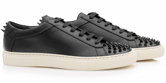 KOIO   Capri Nero Spikes Women's Sneaker 5 (US) / 35 (EU) - 429830504484