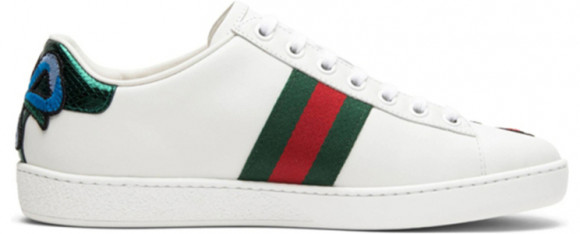 Womens Gucci Ace Embroidered 'Floral' White Leather WMNS Sneakers/Shoes 431917-A38G0-9064 - 431917-A38G0-9064