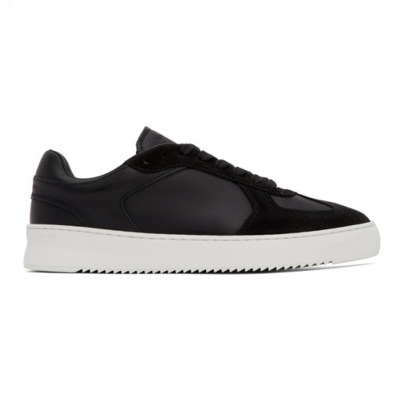 Filling Pieces Black Field Ripple Pine Sneaker - 43728011861