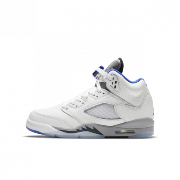 Nike jordan Air jordan 5 retro gs sneakers WHITE/HYPER ROYAL 35.5 - 440888-140
