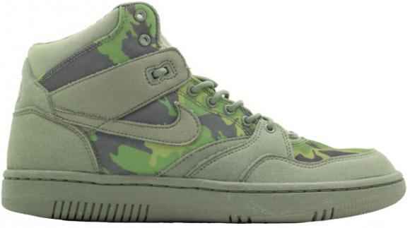 Nike Sky Force 88 Mid Stussy Olive Camo - 454452-300