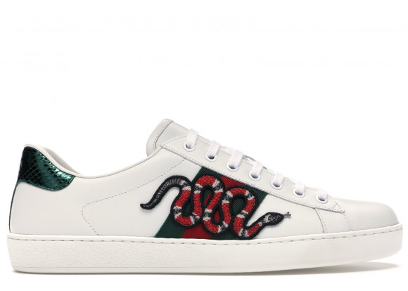 Gucci Ace Embroidered Snake - 456230-A38G0-9064
