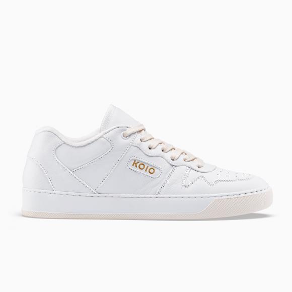 KOIO   Metro Triple White Men's Sneaker 10 (US) / 43 (EU) - 4579539222564