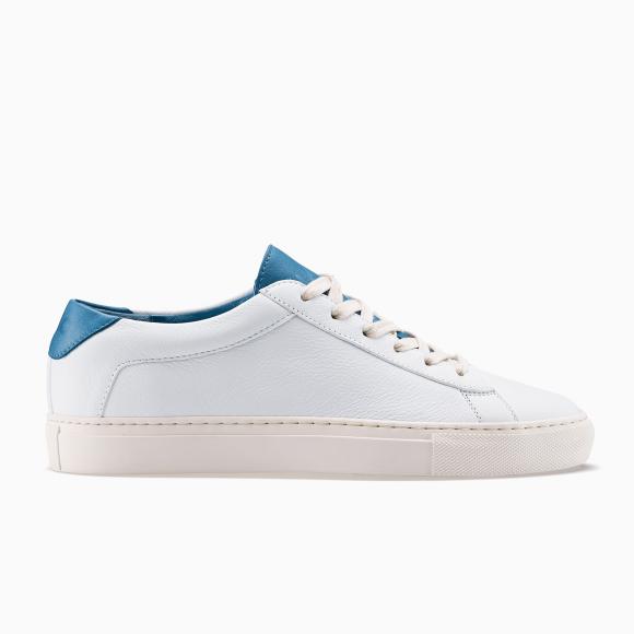 KOIO   Capri White Turquoise Men's Sneaker 13 (US) / 46 (EU) - 4581147213860