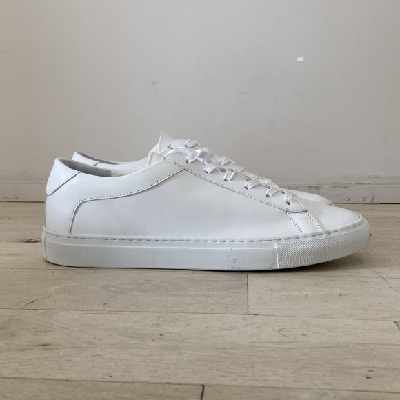 KOIO | Capri Triple White Vintage Men's Sneaker 11 (US) / 44 (EU) - 4778123657252
