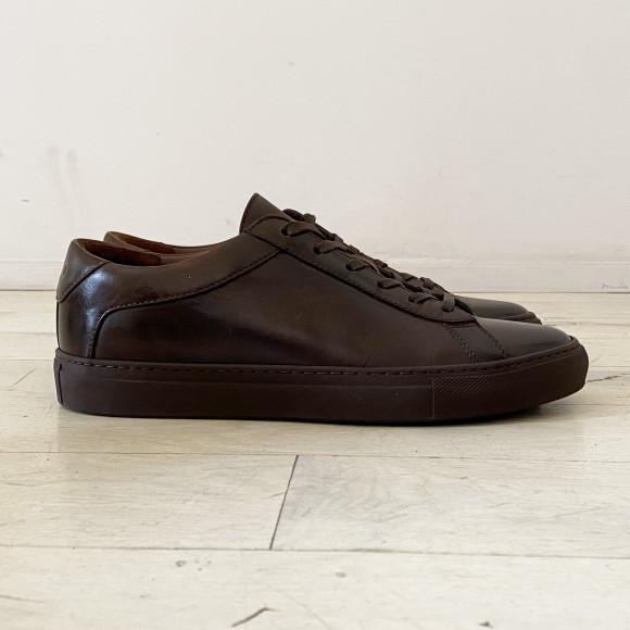 KOIO   Capri Mocha Vintage Women's Sneaker 8 (US) / 38 (EU) - 4780893470756