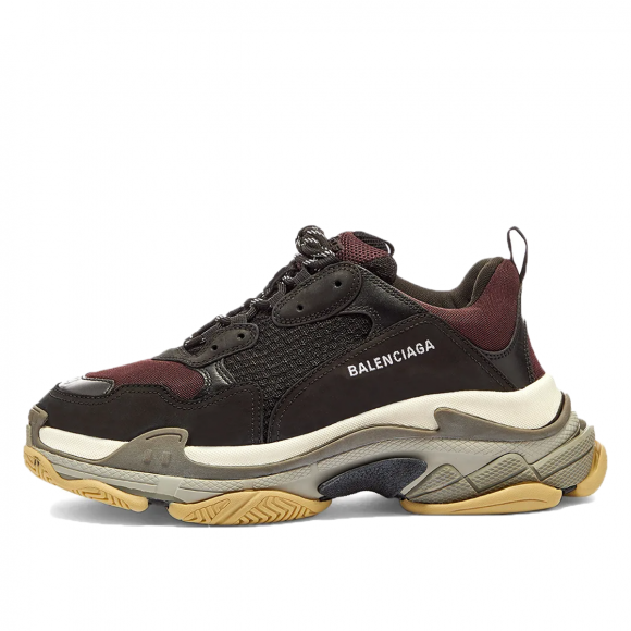 Balenciaga Triple S Burgundy Black - 483513-W06F1-9080