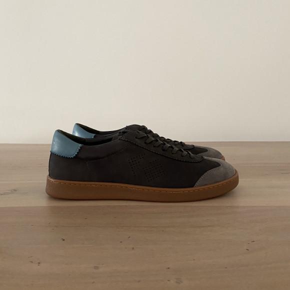 KOIO | Tempo Charcoal/Turquoise Men's Sneaker 9 (US) / 42 (EU) - 4945864032292