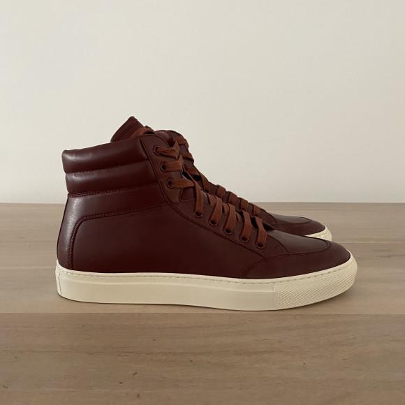 KOIO | Primo Burgundy Vintage Men's Sneaker 9 (US) / 42 (EU) - 4945867472932