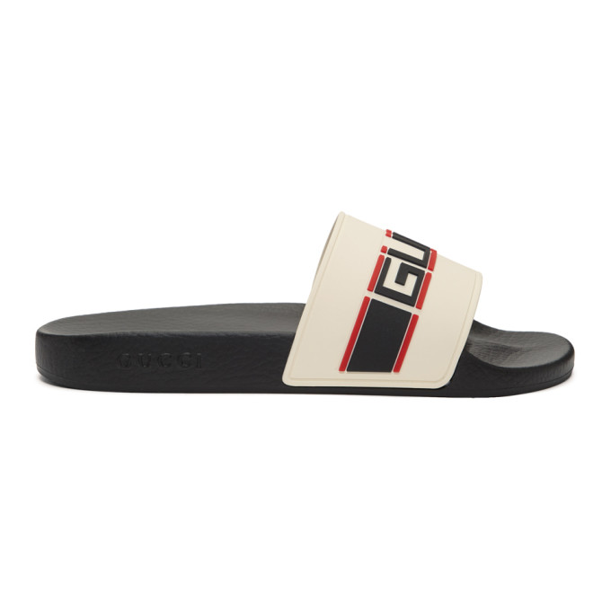Gucci Off-White Pursuit Sport Slides - 522884 JC200
